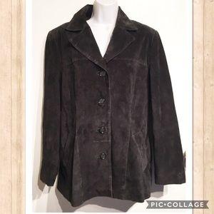 Preston & York Leather Suede Jacket