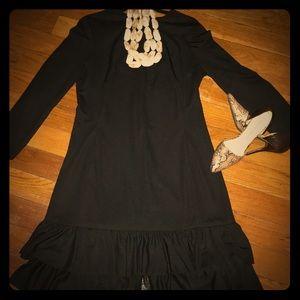 Vintage Little Black Shift Dress