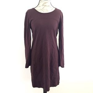 Athleta Long Sleeve Sheath Dress Size L