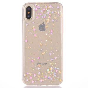 COMING 🔜 iPhone X SOFT TPU Silicone Glitter Case