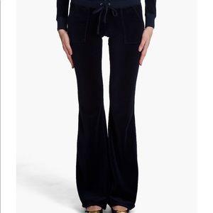 Juicy Couture Velvet Flap Pocket Track Pants