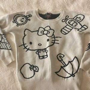 Hello kitty sweater medium