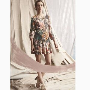 Anthropologie Drop Waist Tunic Dress