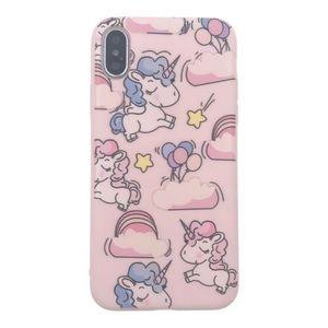COMING 🔜 iPhone X SOFT TPU Silicone Unicorn Case