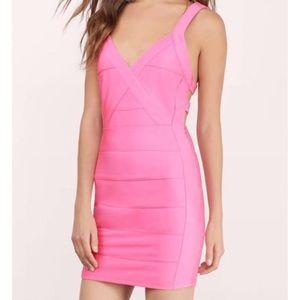 Tobi Pink Bodycon Dress