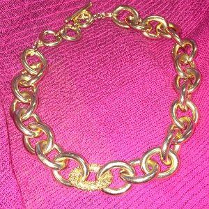 BR Glam Bling Link Necklace