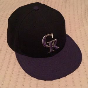 Other - Colorado Rockies Fitted Hat