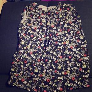 Old Navy boxy fit floral dress 3x