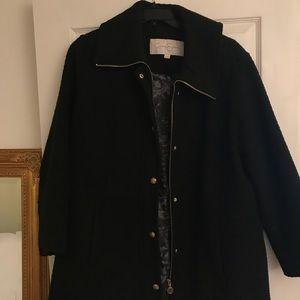 Jessica Simpson Black Coat 1 X