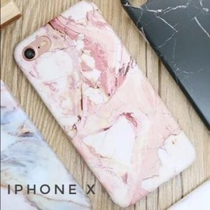 Accessories - Pink Marble Pattern Case