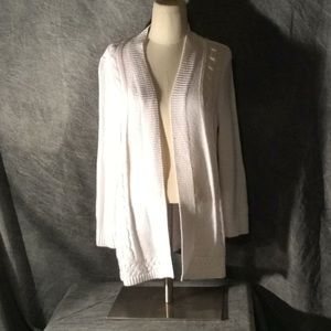 White croft and barrow women's knitted cardigan