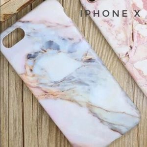 Accessories - Colorful Marble Pattern Case