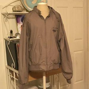 Vintage Grey Brown Members Only Jacket