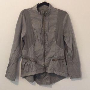 XCVI Gray Jacket L