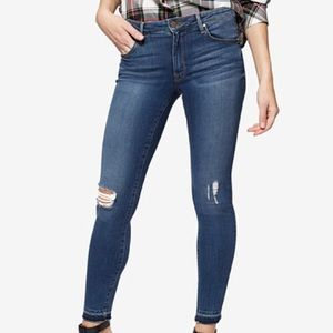 Sanctuary Robbie High Waisted Ankle Skinny Jeans