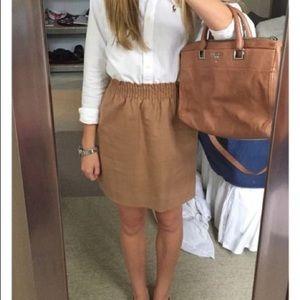 Khaki J. Crew Skirt