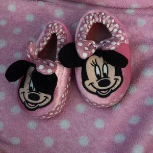 Other - Minni mouse pink girls slippers