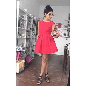 Zara Red Cocktail Dress