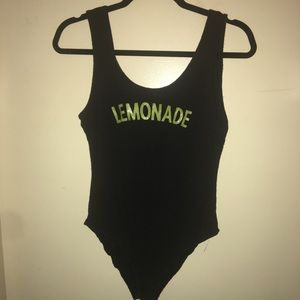 Lemonade body suit