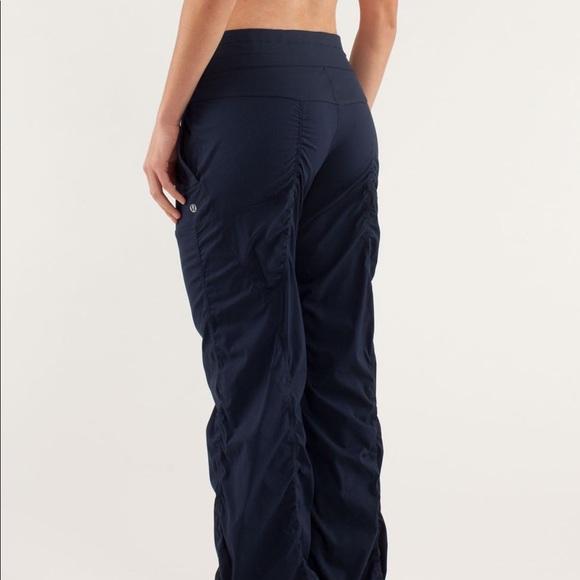 e2c2dc81ee lululemon athletica Pants - Studio dance pants lululemon size 4 dark blue