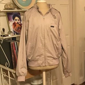 Vintage Khaki Tan Members Only Jacket