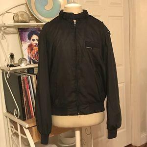 Vintage Black Members Only Jacket