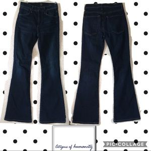 Citizens of humanity fleetwood highrise flare jean