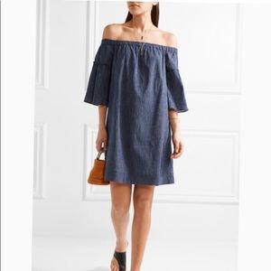 💙Madewell Cotton Off Shoulder Dress Size 12💙