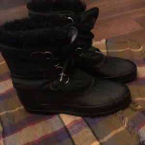 Black sorel snow/winter boots