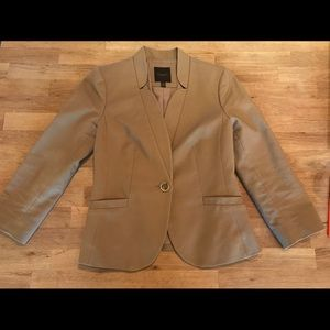 XS The Limited Camel 3/4 length suit jacket