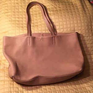 Prada unlined leather tote-very good condition