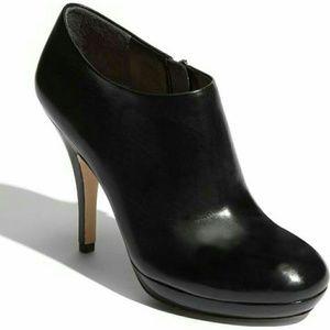 Via Spiga leather high heal booties