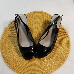 Nine West Black Heels Size 7.5