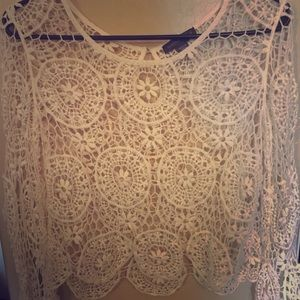Kendall & Kylie Lace Coverup