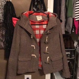 XS pea coat