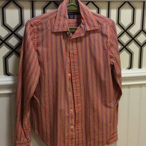 Ralph Lauren striped cotton shirt sz 6