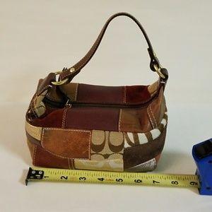 Coach patchwork mini bag