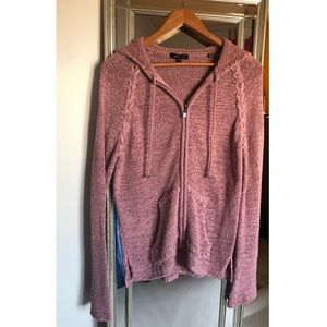 Clear out sale🔥beautiful pink zip up cardigan