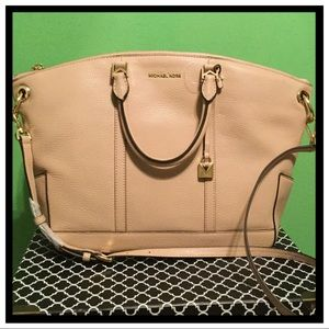 NWT Michael Kors Beckett Large Satchel