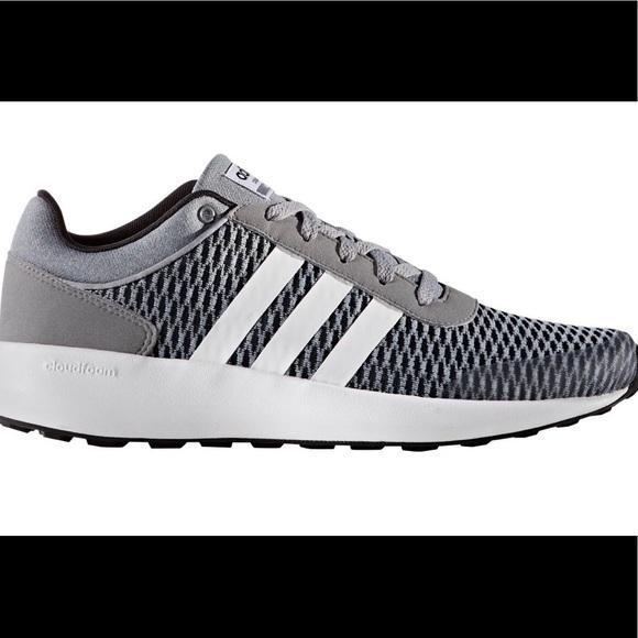 Adidas zapatos cloudfoam raza poshmark