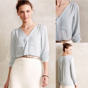 Anthropologie HD in Paris Scalloped Remi Blouse 12