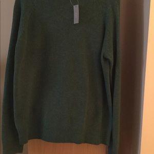 J.Crew lambs wool green sweater