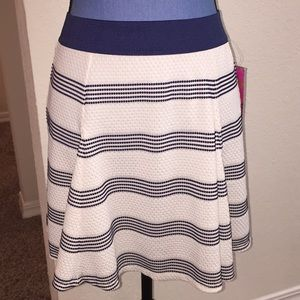 NWT Candie's Striped Skirt