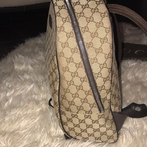 766949c5c807 Gucci Bags - AUTHENTIC Gucci Beige Canvas Guccissima Backpack