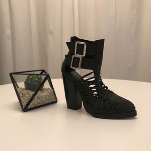 Jeffrey Campbell Caged, Pointed Boots
