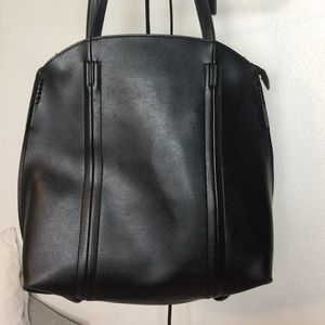 Large Melie Bianco Vegan Leather Bag