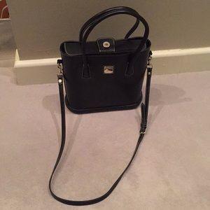 Dooney Bourke black purse.