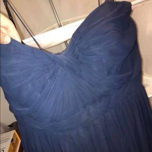 Jenny Yoo Aiden Convert Strap Dress - Navy