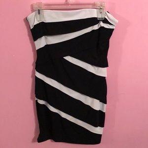 Black and White Dress - White House Black Market