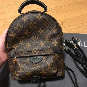 Louis Vuitton palm spring mini backpack